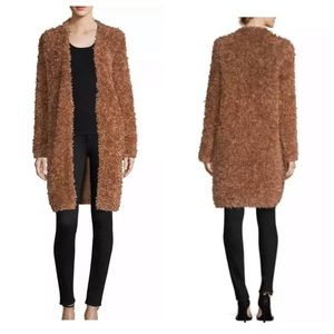 M Missoni Thick Fur Open Jacket Coat size 42